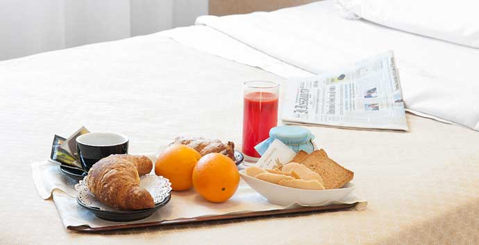 Colazione a letto for Buongiorno con colazione