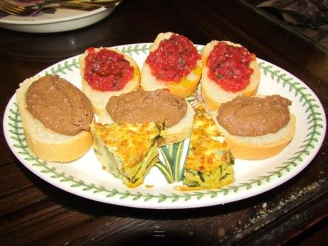Osteria Enoteca La Gattaiola, Crostini e Frittata