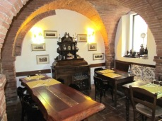 Osteria Enoteca La Gattaiola, una delle Salette