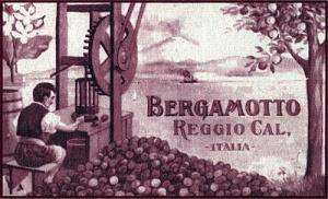 Etichetta Bergamotto