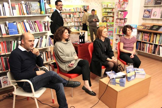 L'Ora del Paté a Livorno, Fabrizio Fazzari, Alessandra Gennaro, Eleonora Cozzella, Cristina Galliti