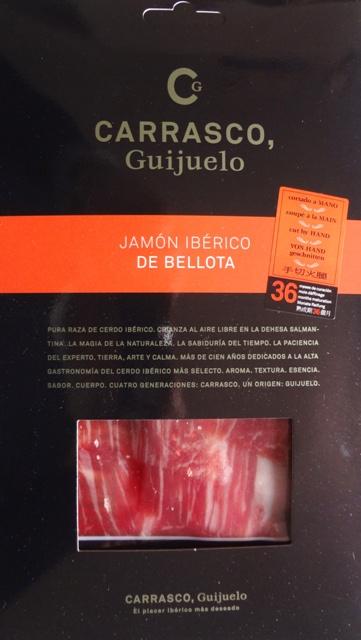 Carrasco Guijuelo, Jamón Ibérico de Bellota in busta