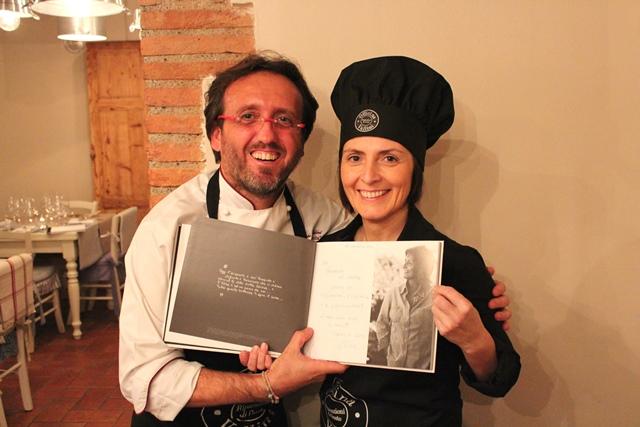 Officina Vallini, Emanuele Vallini e Cinzia Merli