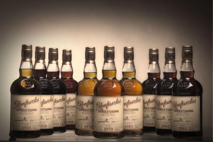 Whisky di Malto - Assortimento bottiglie