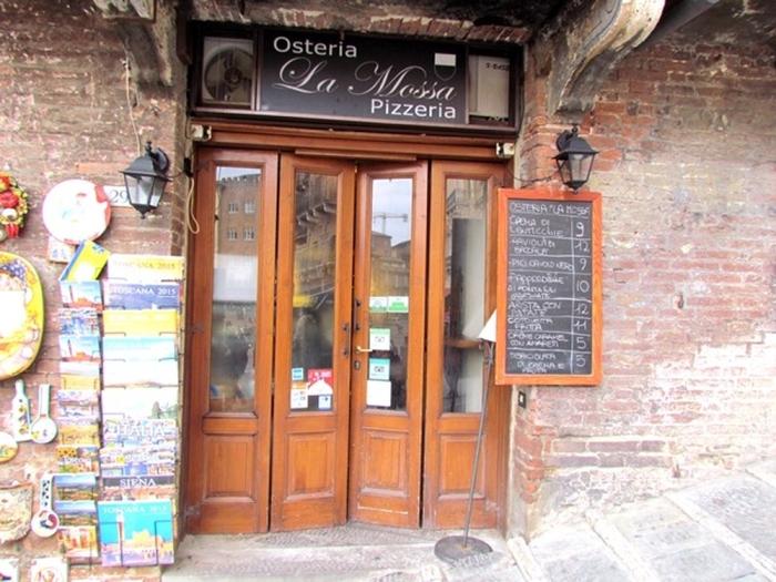 Trattoria La Mossa a Siena
