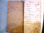 Pasticceria gnesi Livorno il prezioso blocchetto delle ricette di renzo gnesi del 1948 pinolate
