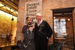 Restaurante DSTAgE Madrid, Lo Chef Diego Guerrero insieme a Giorgio Dracopulos