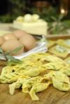 Tortelli alle erbette alla Piacentina - Ristorante Filietto - Bobbio - PC *** Local Caption *** Tortelli alla piacentina per atlante prodotti tipici Scatto per atlante tipico