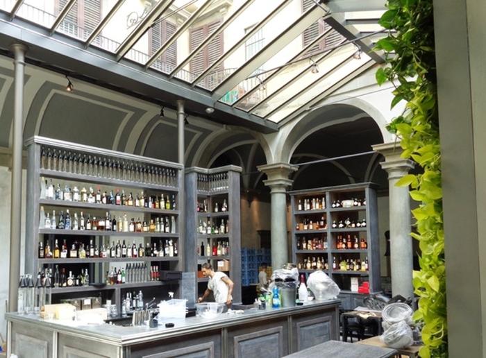 Ristorante il Locale a Firenze.  Foto di Giorgio Dracopulos Critico Gastronomico