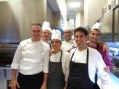 Ristorante il Locale a Firenze, la Brigata di Cucina. Foto di Giorgio Dracopulos Critico Gastronomico
