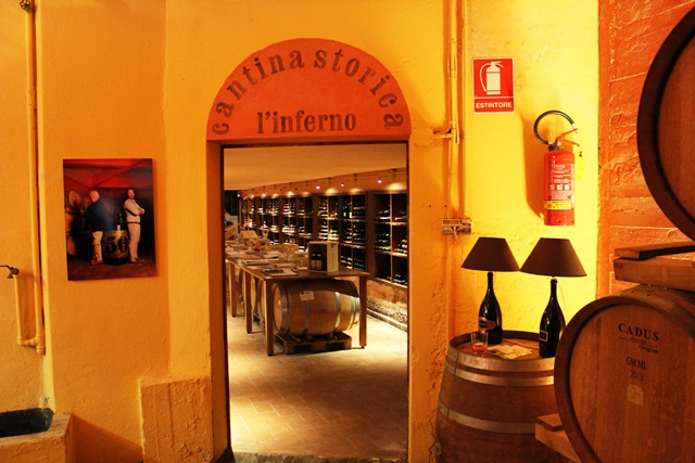 Tenuta del Buonamico, la Cantina Storica - L'Inferno. Foto di Giorgio Dracopulos