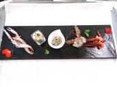 Ristorante Acquasalata Viareggio (LU), il Crudo - Seconda Portata. Foto di Giorgio Dracopulos Critico Gastronomico
