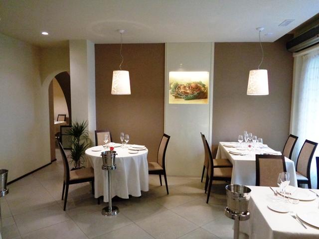 Ristorante Acquasalata Viareggio (LU), la Prima Saletta. Foto di Giorgio Dracopulos Critico Gastronomico