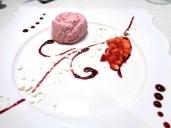 Ristorante Acquasalata Viareggio (LU), Rosa alla Fragola. Foto di Giorgio Dracopulos Critico Gastronomico