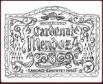 Cardenal Mendoza - Bozzetto preparatorio etichetta Giubileo