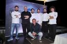 Gran Galà Versilia Gourmet 2016 all'Hotel Principe di Forte dei Marmi (LU). Gli Chef e Gianluca Domenici. Foto di Fotomania
