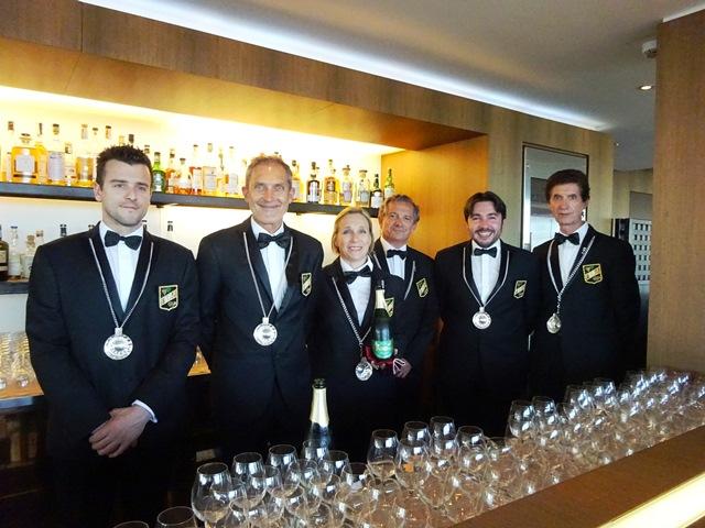 Gran Galà Versilia Gourmet 2016 all'Hotel Principe di Forte dei Marmi (LU). I Sommelier F.I.S.A.R.. Foto di Giorgio Dracopulos Critico Gastronomico