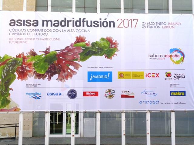 """Asisa Madrid fusión 2017"""": il meglio della gastronomia mondiale"""