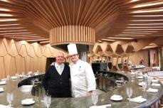 Restaurante A_ Barra a Madrid, in Spagna. Giorgio Dracopulos e lo Chef Juan Antonio Medina Gálvez. Foto di Giorgio Dracopulos Critico Gastronomico