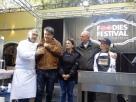 Foodies Festival 2017. Bondi, Managlia, Pizzi, Dracopulos, Daddi. Foto di Giorgio Dracopulos