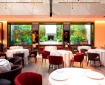 Restaurante Saddle Madrid. dalla Sala la Vista del Giardino. Foto Saddle